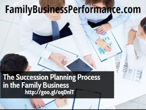 The Succession Planning Process in the Family Business