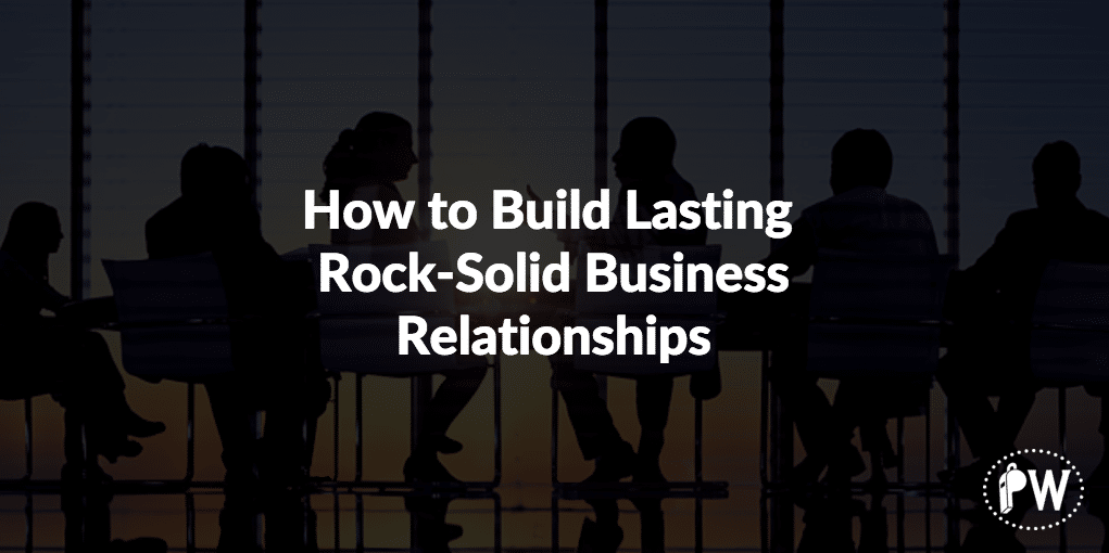 how to build a good relationship with business partner