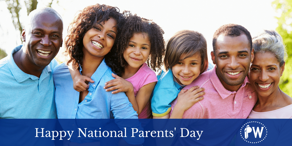 10 Things to Practice for National Parents' Day