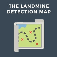 The Landmine Detection Map